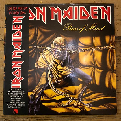 Iron Maiden Piece Of Mind Picture Disk