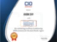 Certificate Honors CIO Advisor.png