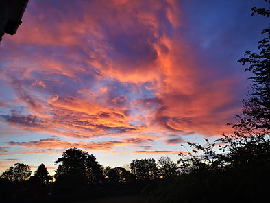 May 2021 dawn sky