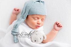 sleepy cap newborn boy