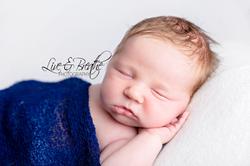 Newborn Boy in Dark blue kingston ontario