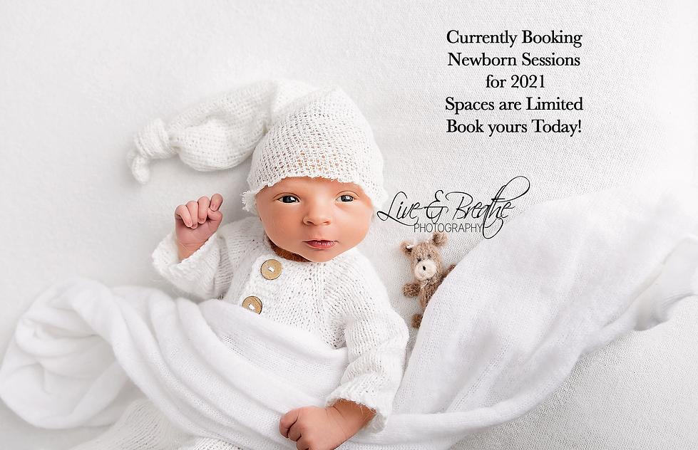 currently booking newborns