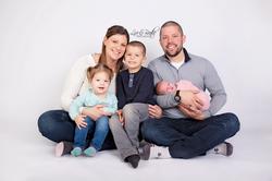 Newborn Girl Family