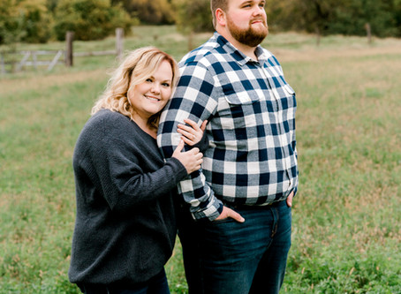 Jacob + Erin // Quincy, IL fall engagement session