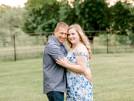 Tommy + Mariah // Quincy IL Engagement