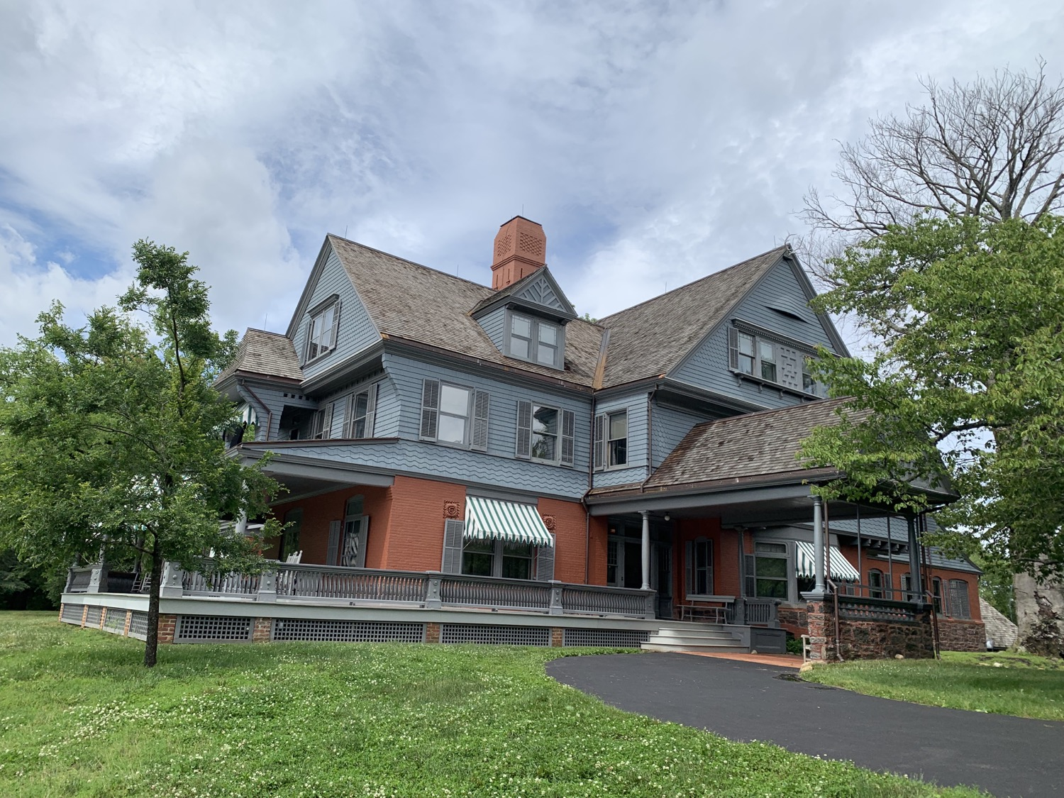 Sagamore Hill, home of Teddy and Edith Roosevelt