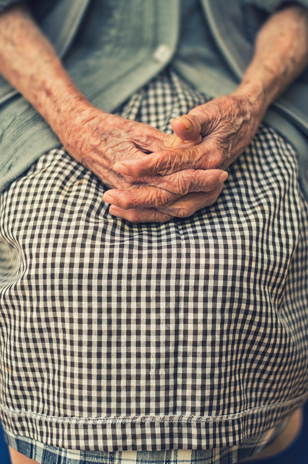 Old Woman's Hands - Whispering Dust Poem