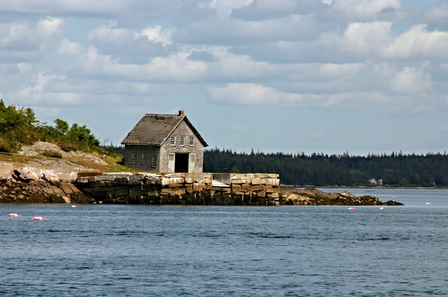 Boat Shed, Maine