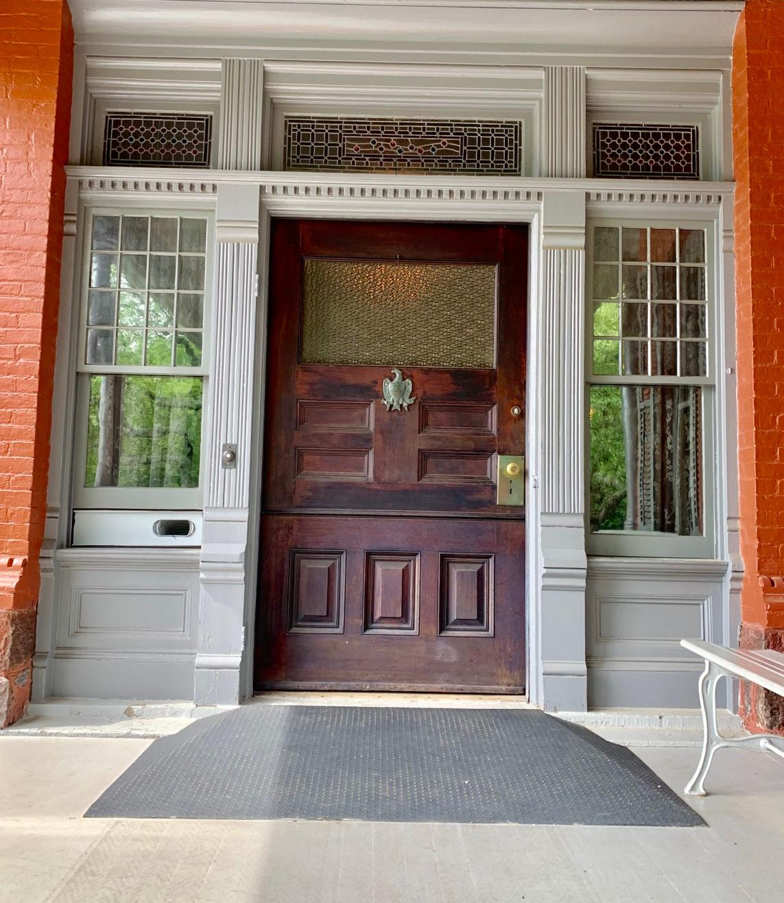 Front Door of Teddy Roosevelts Sagamore Hill