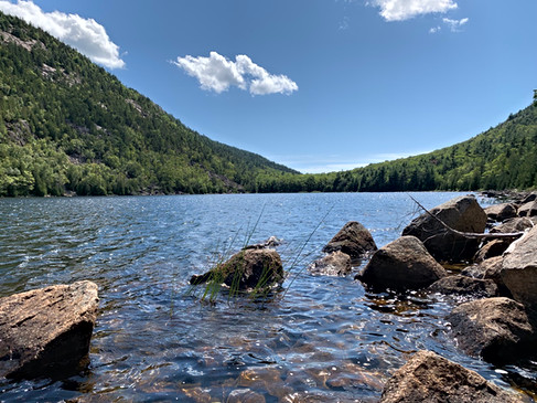 Bubble Pond, Acadia National Forest, Mt. Desert, ME