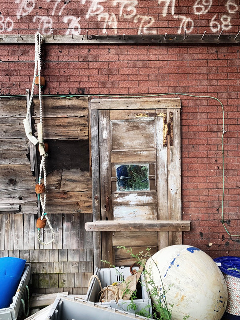 Eatons Boathouse, Castine, ME