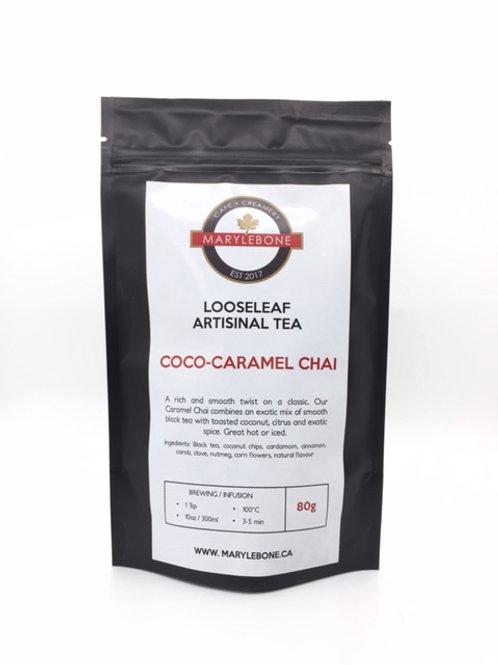 Coco-Caramel Chai Looseleaf Artisinal Tea