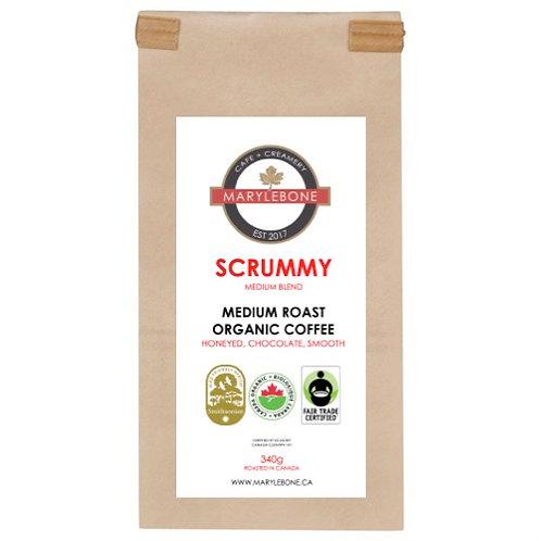 SCRUMMY - MEDIUM ROAST ORGANIC COFFEE