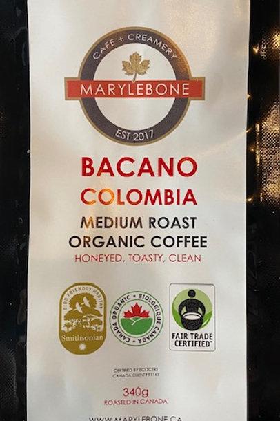 BACANO COLOMBIA - MEDIUM ROAST ORGANIC COFFEE