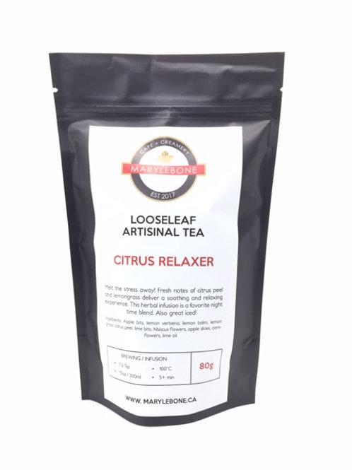 Citrus Relaxer Looseleaf Artisinal Tea
