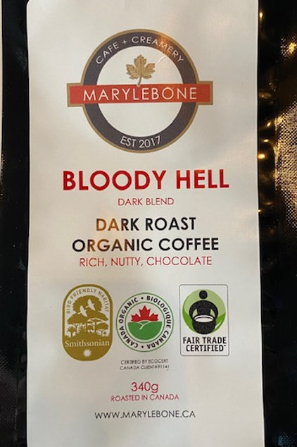 BLOODY HELL - DARK ROAST ORGANIC COFFEE