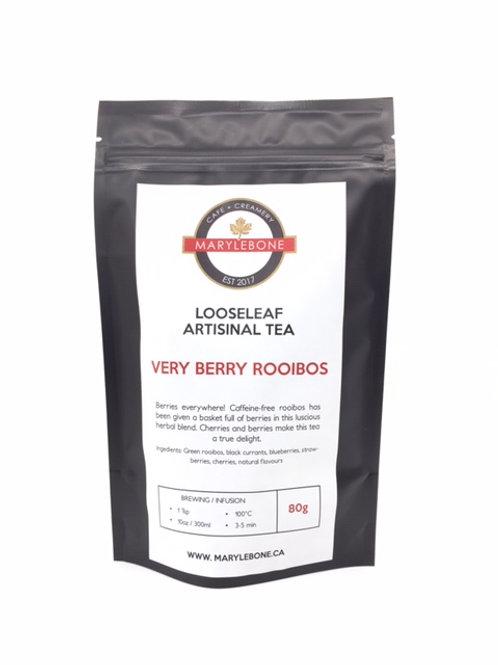 Very Berry Rooibos Looseeaf Artisinal Tea