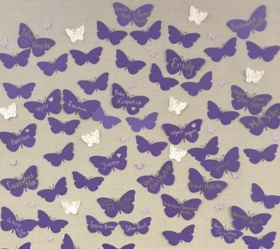 Purple Butterfly Loss Project