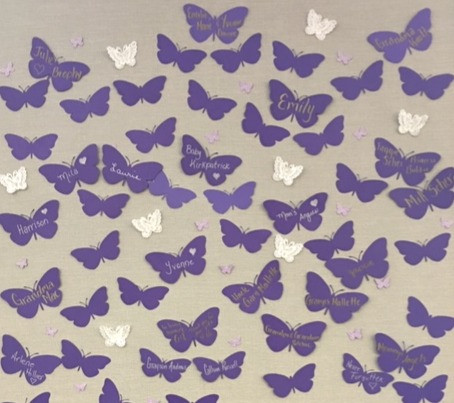 Purple Butterfly Loss Project