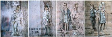 Roberto Zucco | Costume design & renderings by Snezana Pesic