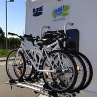 Portabicicleta THULE para 4 bicicletas