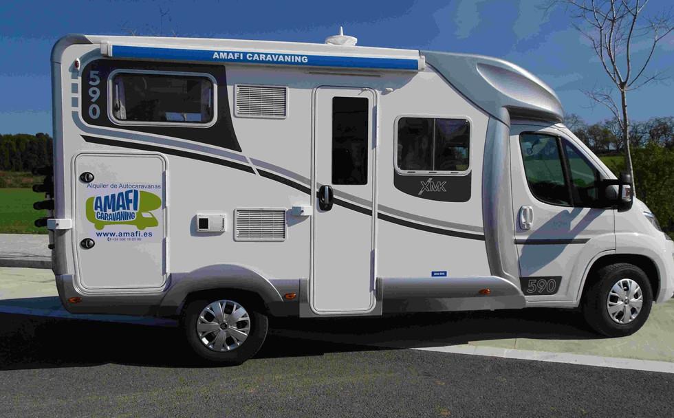 Camping-car Ilusion 590, pour 4 places
