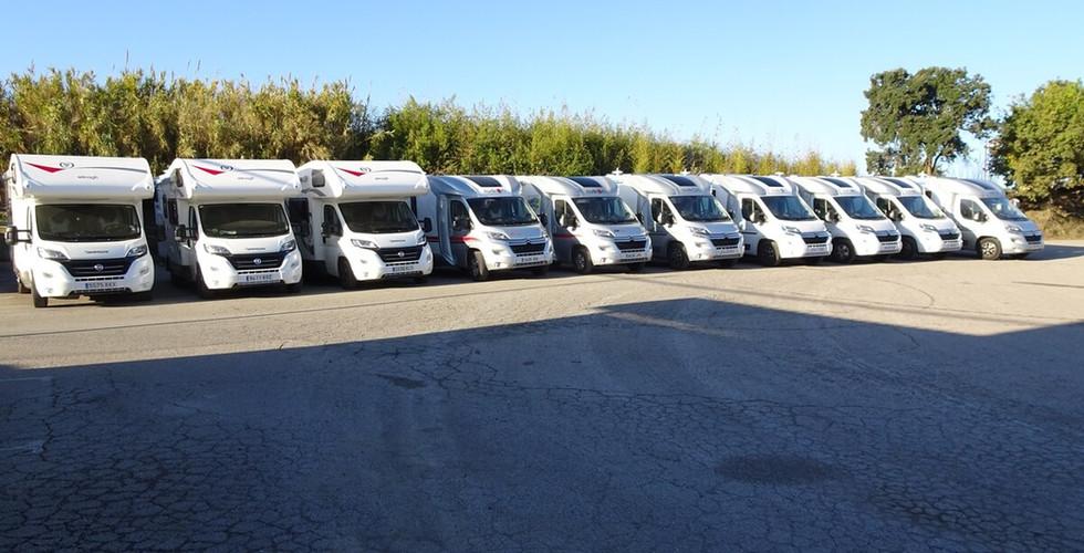 flota de alquiler autocaravanas amafi caravaning