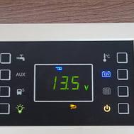 Panel de control electrónico