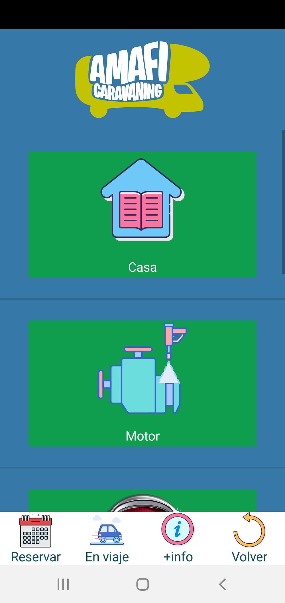manuales de uso de motorhome