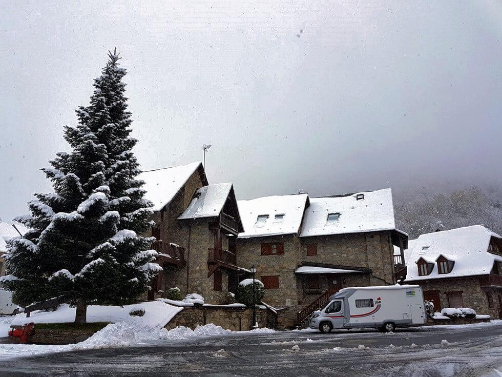 invierno en autocaravana