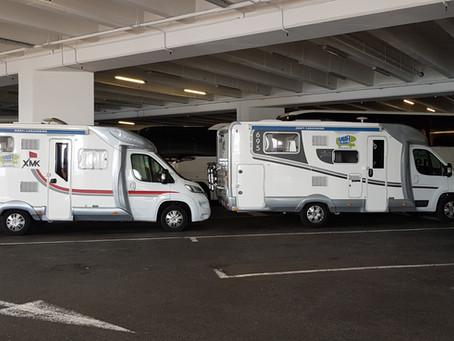 Aparcar la autocaravana en Mónaco, simple