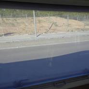 Grandes fenêtres avec moustiquaires