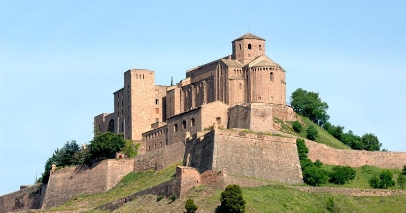castillo de cardona, barcelona