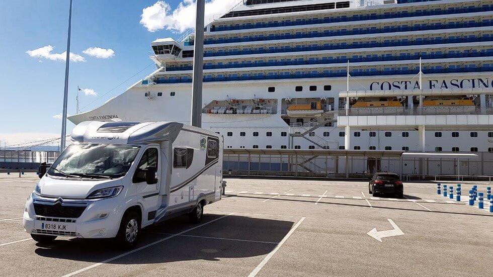 Mediterranean cruise in motorhome