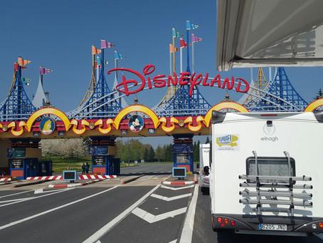 Disneyland Paris en autocaravana