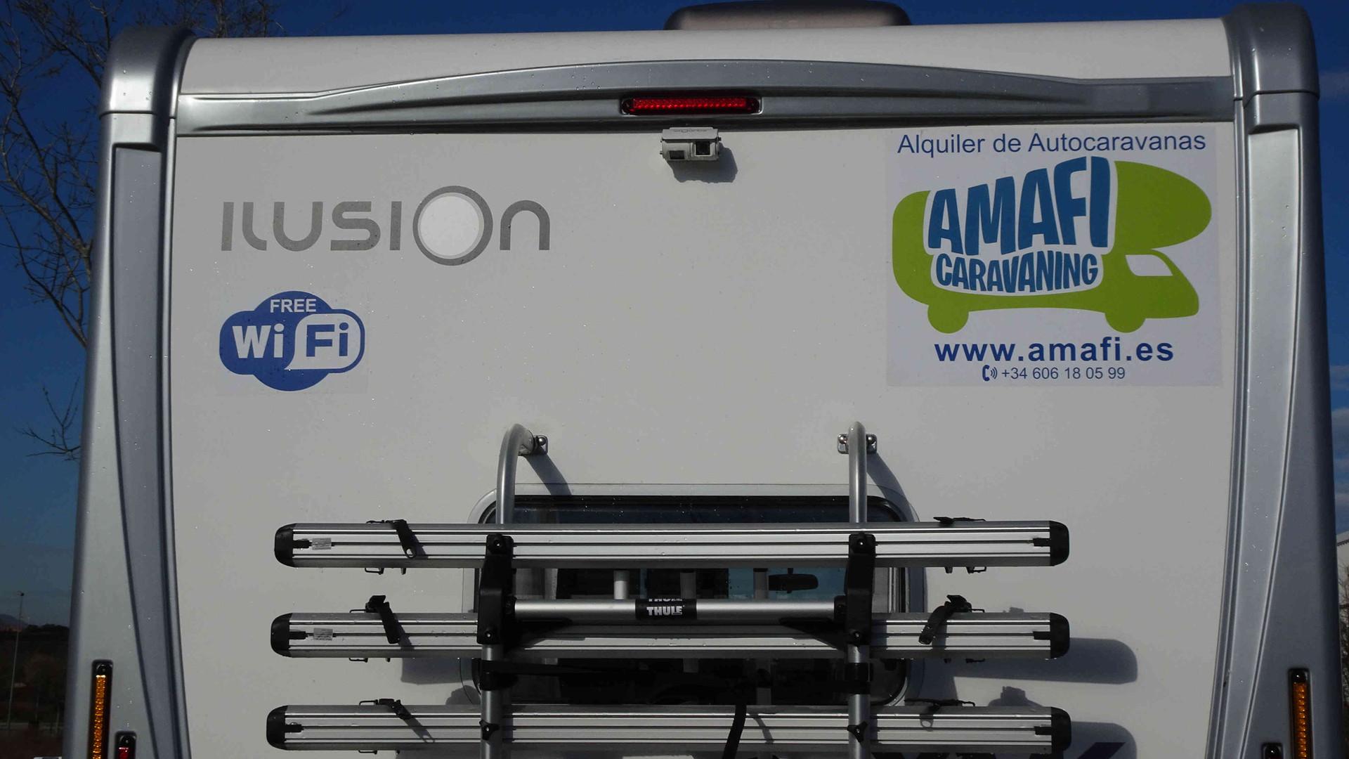 Camping-car Ilusion 590 Berth avec WiFi