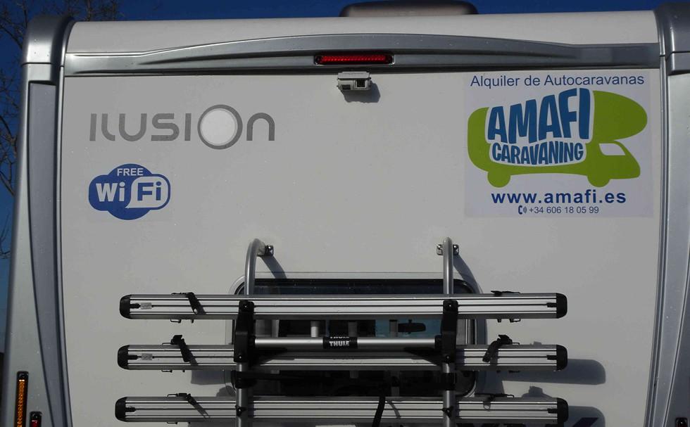 autocaravana Ilusion 590 Literas con WiFi