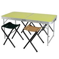 Mesa y sillas para camping