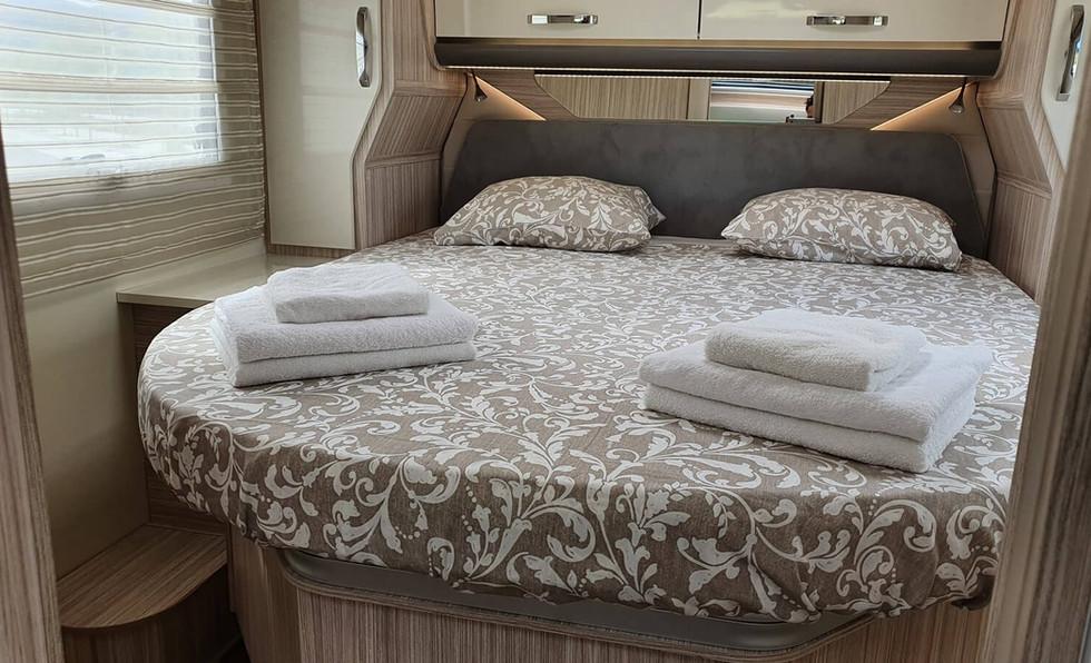 camping-car avec suite de luxe
