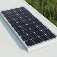 Placa solar para cargar batería