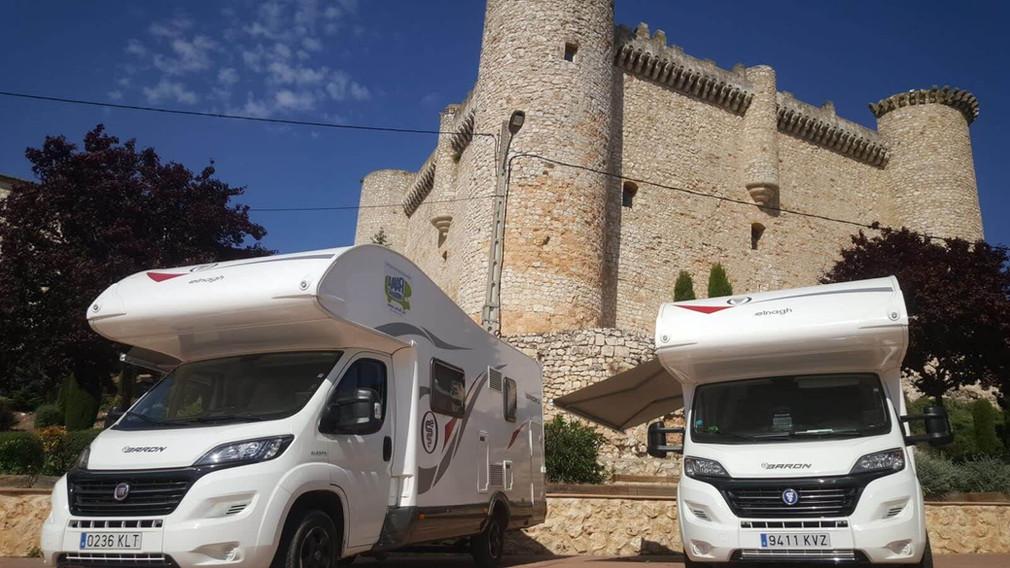 motorhomes in castles