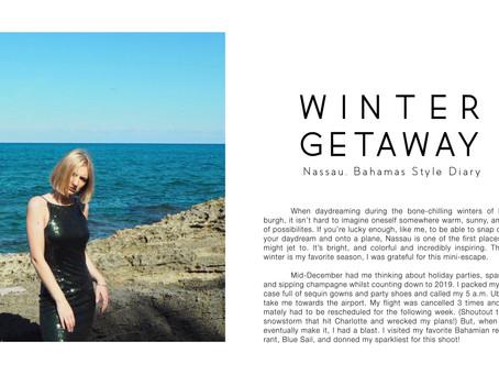 Winter Getaway: Nassau, Bahamas Style Diary