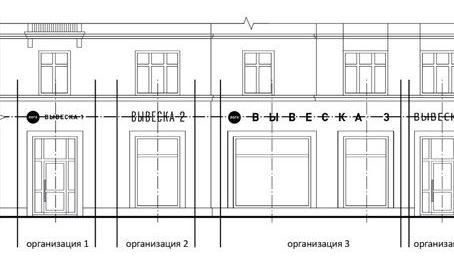 902-ПП: как разместить вывеску нескольких компаний на одном фасаде