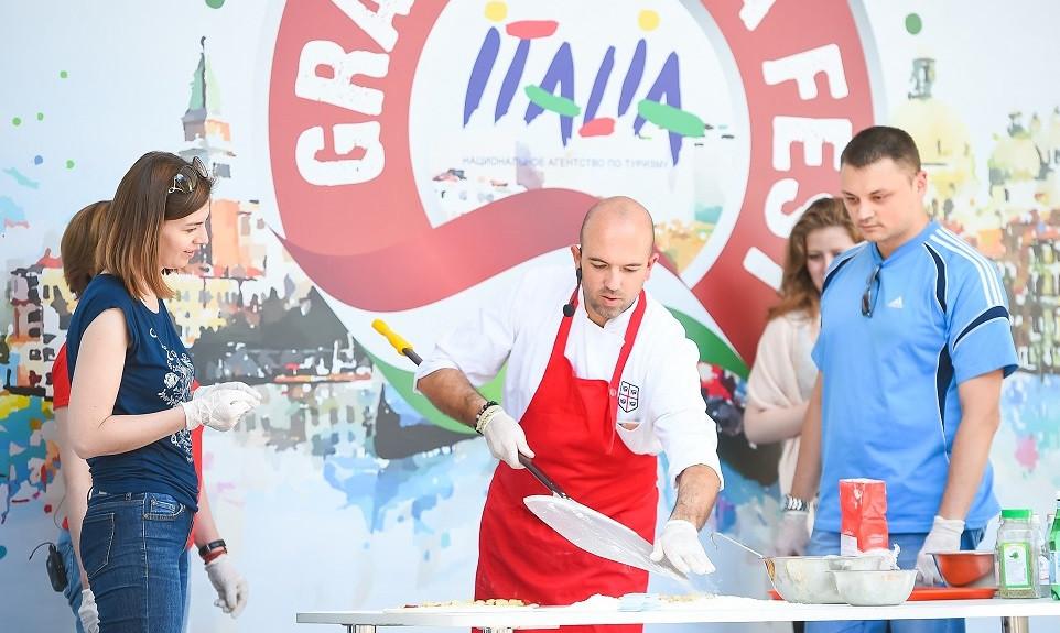 Большой Фестиваль Италии кулинарные мастер классы