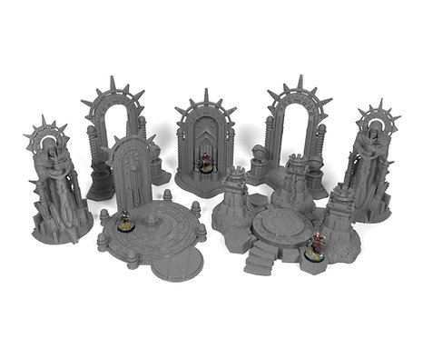 Stormguard Undone Terrain: Spellcaster Bundle