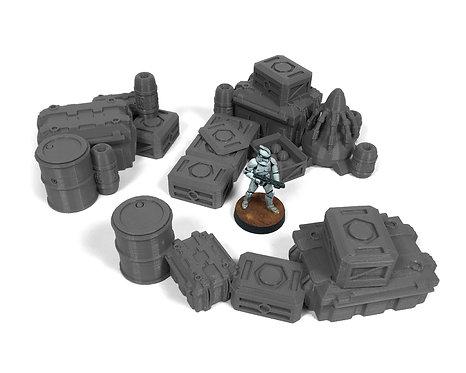 Sci-Fi Terrain:Supplies Scatter