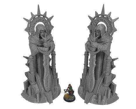 Stormguard Undone Ancient Statues