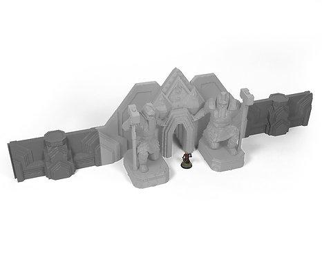 Dwarf Wall Extensions
