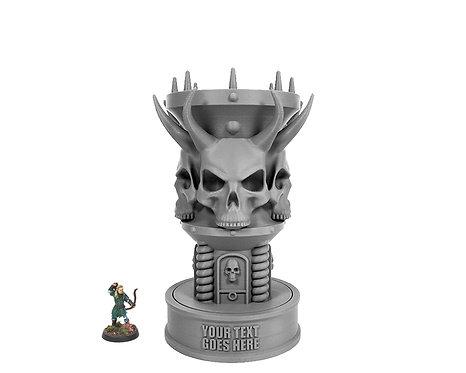 Horned Skull Trophy