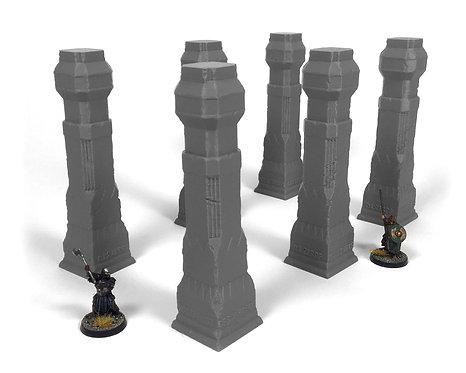 Dwarven Terrain: Fourth Hall Pillars